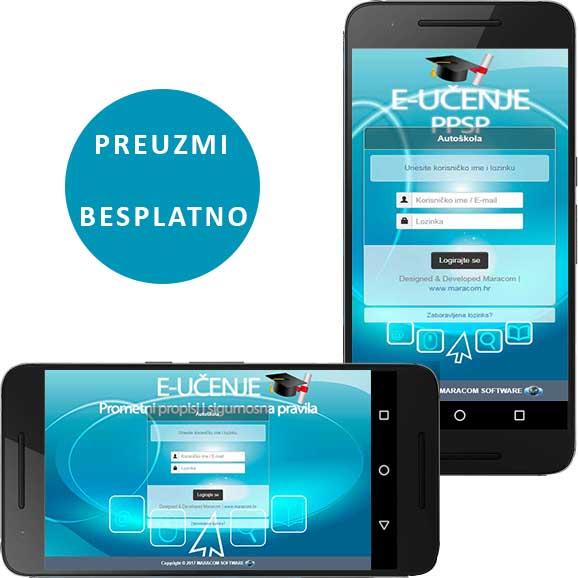 Mobilna aplikacija autoškola testovi